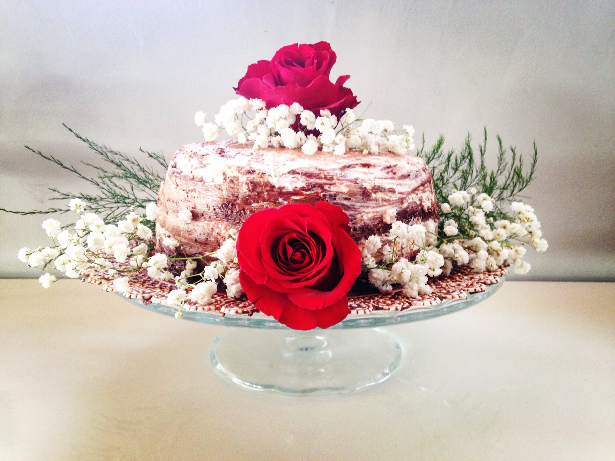 naked-cake-con rose