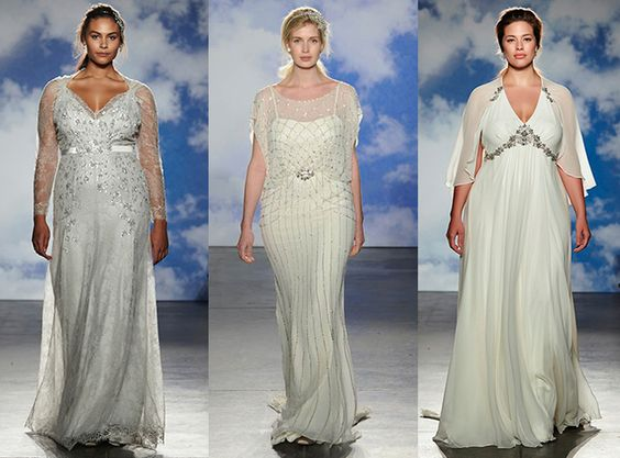 Abiti da sposa Jenny Packham 2015 plus size model